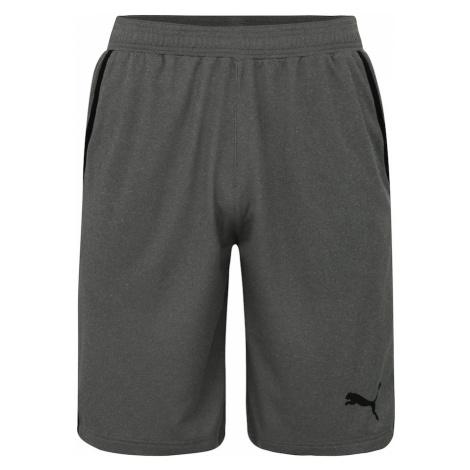 PUMA Športové nohavice 'RTG Interlock Shorts 10`'  sivá
