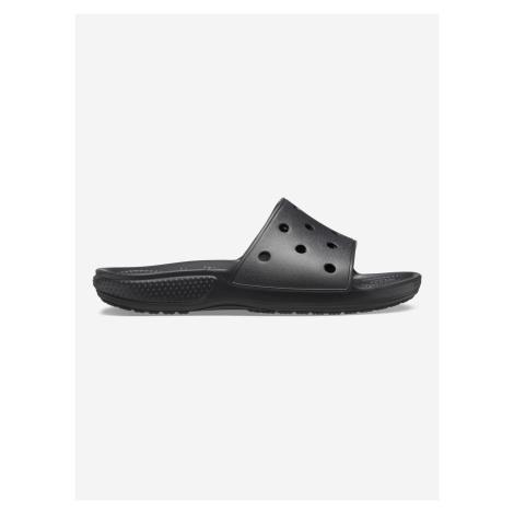 Classic Pantofle Crocs Čierna