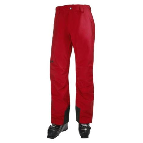 Helly Hansen LEGENDARY INSULATED PANT červená - Pánske lyžiarske nohavice