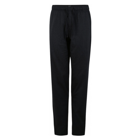 SCHIESSER Pyžamové nohavice  sivá / tmavomodrá