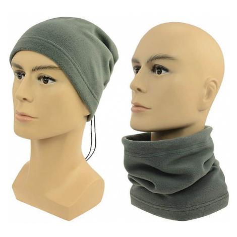 Sulov Multifunkční šátek 2v1 Fleece šedý