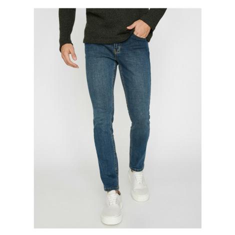 Koton Men's Green Micheal Jeans