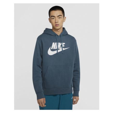 Nike Sportswear Club Fleece Mikina Modrá Zelená