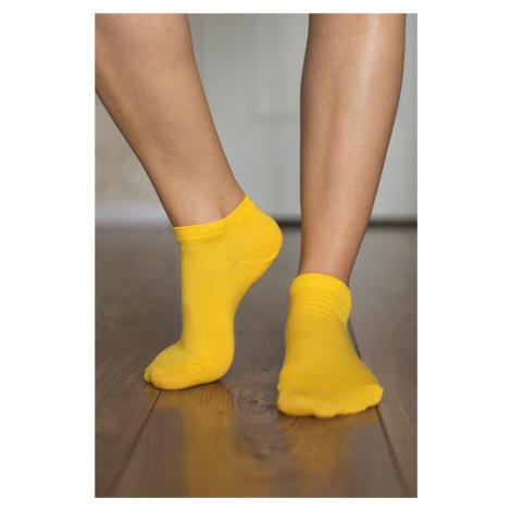 Barefoot ponožky krátke - žlté 43-46