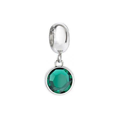 Morellato Oceľový prívesok so zeleným kryštálom Drops SCZ907