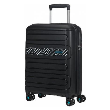 American Tourister Kabinový cestovní kufr Sunside Limited Edition 35 l - light geo