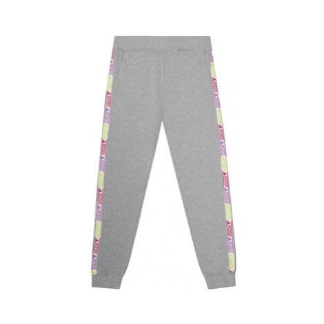 Guess Teplákové nohavice J0YQ08 KA6V0 Sivá Regular Fit