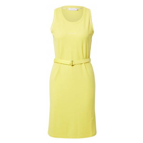 Calvin Klein Letné šaty  žltá / biela