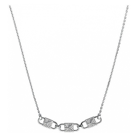 Michael Kors Strieborný náhrdelník so zirkónmi MKC1143AN040