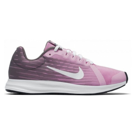 Nike DOWNSHIFTER 8 GS ružová - Detská bežecká obuv