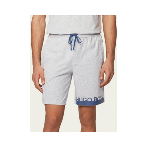 Boss Pyžamové šortky Identity 50430702 Sivá Regular Fit Hugo Boss