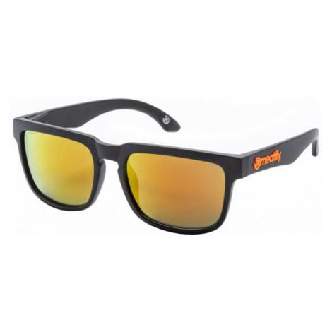 Meatfly Slnečné okuliare Memphis A- Black, Orange