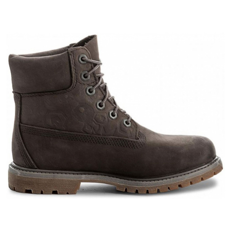 Timberland Icon 6-Inch Premium Boot-6.5UK šedé A1K3P-GRY-6.5UK