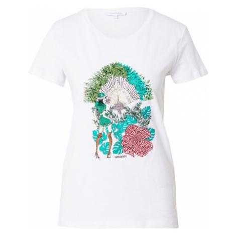 PATRIZIA PEPE Tričko 'MAGLIA'  zmiešané farby / biela