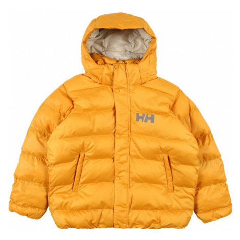 HELLY HANSEN Zimná bunda 'RADICAL'  zlatá žltá