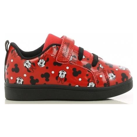 červené dievčenské tenisky minnie mouse Disney