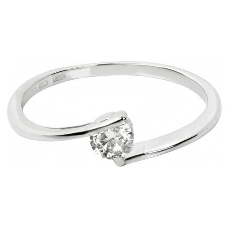 Brilio Zlatý zásnubný prsteň 001 07 mm