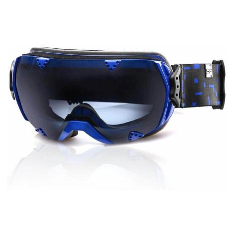 Spokey RED ROCK lyžařské brýle černo-modré