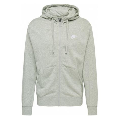 Nike Sportswear Tepláková bunda  sivá