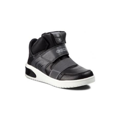 Geox Sneakersy J Xled B. A J847QA 05411 C9999 D Čierna