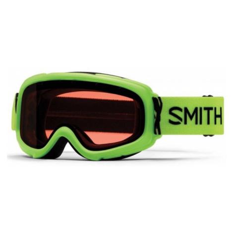 Smith GAMBLER zelená - Detské lyžiarske okuliare