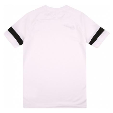 NIKE Funkčné tričko 'Academy'  čierna / biela