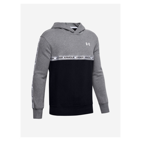Mikina Under Armour Sportstyle Fleece Hoodie Šedá