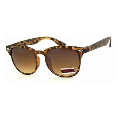 Slnečné okuliare WAYFARER - hnedý matný rám hnedé sklá Leo