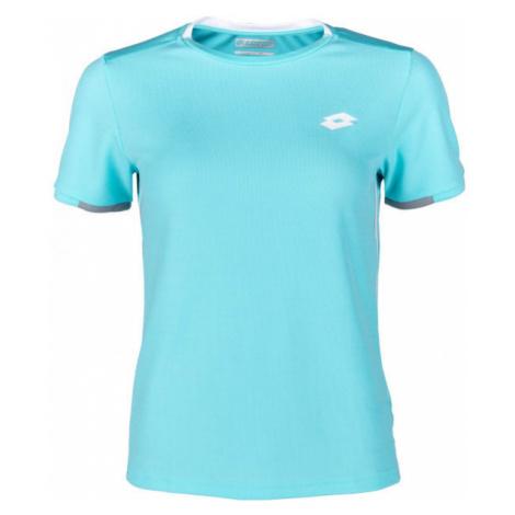 Lotto SQUADRA B TEE PL modrá - Chlapčenské tenisové tričko