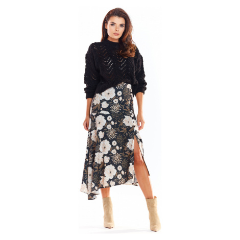 Awama Woman's Skirt A328 Brown