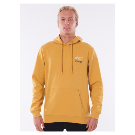 Žltá pánska mikina s kapucí Rip Curl
