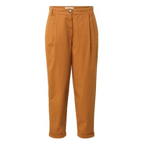 FIVEUNITS Plisované nohavice 'Malou'  hnedá