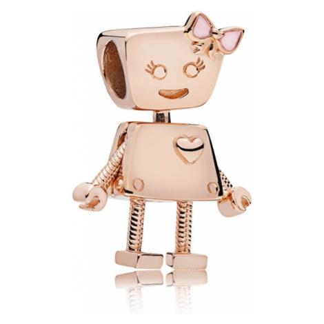 Pandora Bronzový prívesok Robotka Bella 787141EN160