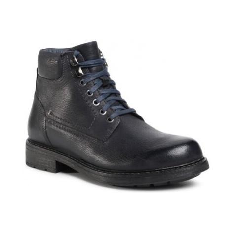 Šnurovacia obuv Sergio Bardi MB-ROOT-38EO Prírodná koža(useň) - Lícova