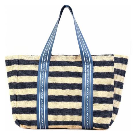 Dámska plážová taška Elle modrá Doca