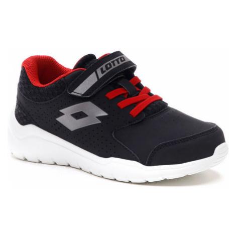 Lotto SPACERUN IX CL SL čierna - Detská obuv na voľný čas