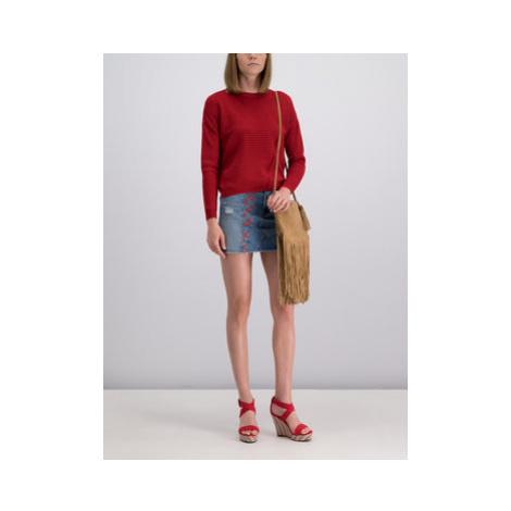 Pepe Jeans Sveter Celia PL701500 Červená Regular Fit