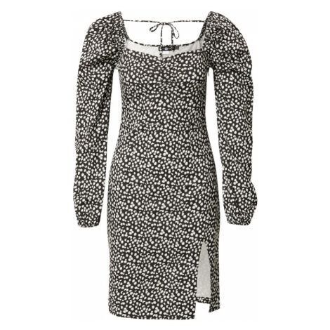Daisy Street Šaty 'VICTORIA'  čierna / biela