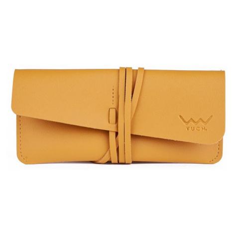 Žlté ochranné puzdro na okuliare Zala Vuch