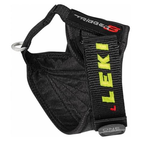 Pútka na zjazdové palice LEKI Trigger S Worldcup Čierno-žltá