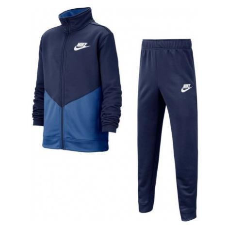 Nike B NSW CORE TRK STE PLY FUTURA modrá - Detská športová súprava