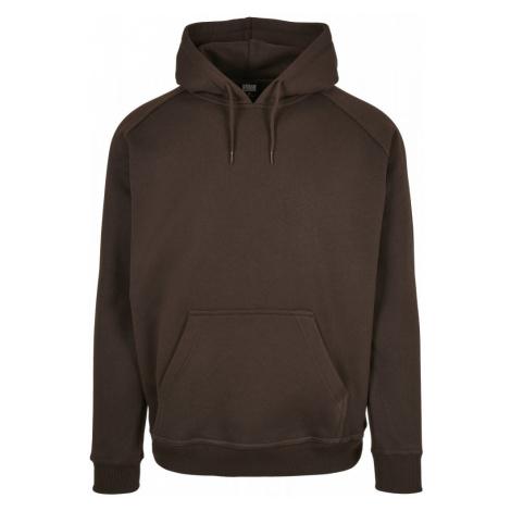 Blank Hoody - brown Urban Classics
