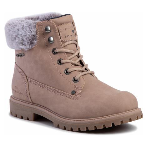 Outdoorová obuv TOM TAILOR - 7990106  Nude