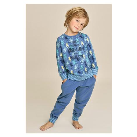 Chlapčenské pyžamo Wild side modrá