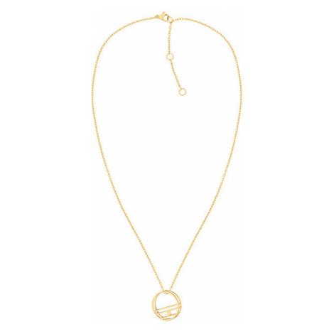 Tommy Hilfiger Pozlátený oceľový náhrdelník TH2780324 (retiazka, prívesok)