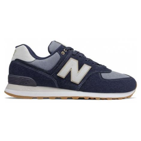 New Balance ML574SNJ tmavo modrá - Pánska vychádzková obuv