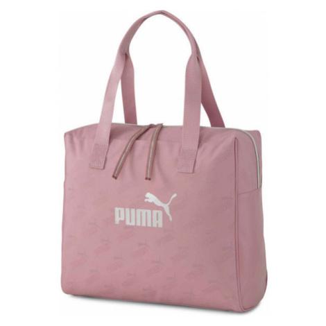 Puma CORE UP LARGE SHOPPER ružová - Dámska taška