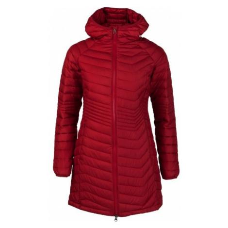 Columbia POWDER LITE MID JACKET červená - Dámska dlhá zimná bunda