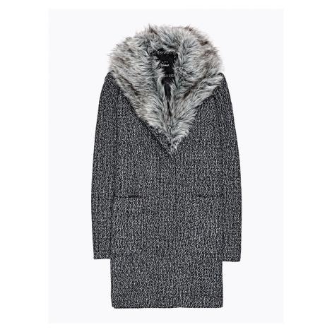 GATE Rovný kabát z vlnenej zmesi