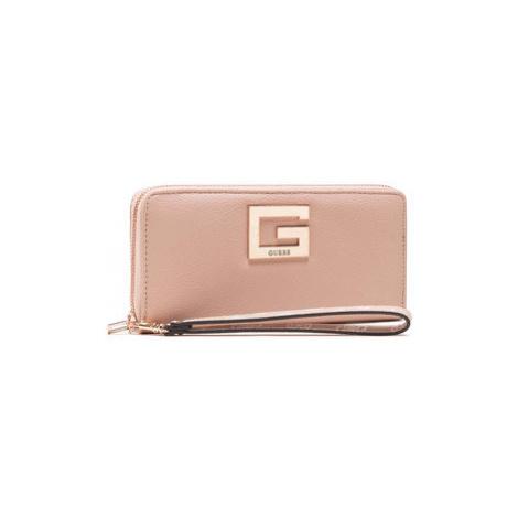 Guess Veľká dámska peňaženka Brightside (PR) Slg SWPR7 580460 Ružová